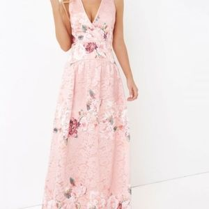 Little Mistress Floral Maxi Dress Size US4